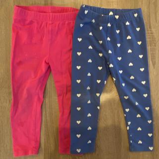 ベビーギャップ(babyGAP)のbaby gap レギンス パンツ サイズ95 2着(パンツ/スパッツ)