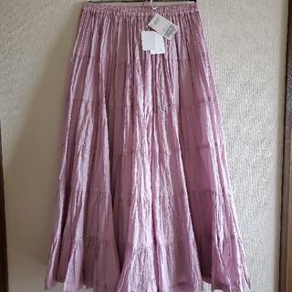 スピックアンドスパンノーブル(Spick and Span Noble)の【MARIHA】草原の虹のスカート(ロングスカート)