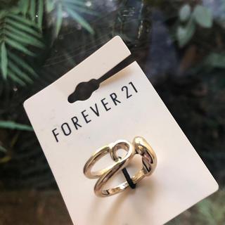 フォーエバートゥエンティーワン(FOREVER 21)の新品未使用 ゴールド系 リング(リング(指輪))