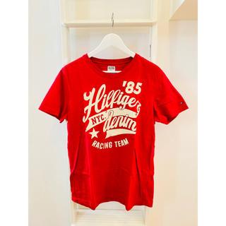 TOMMY HILFIGER - 美品!TOMMY HILFIGER!ロゴTシャツ!赤!