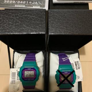 値下交渉可dw 5600 G-SHOCK レトロ 新品 未使用 緑 紫(腕時計(デジタル))