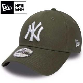 NEW ERA - ニューエラ キャップ NY ヤンキース カーキ グリーン みどり