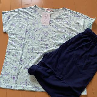 ユニコーン柄 半袖パジャマ 女の子160