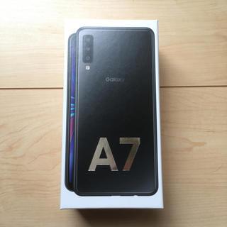 Galaxy - galaxy A7 黒