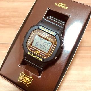 スタンダードカリフォルニア(STANDARD CALIFORNIA)の【未使用】スタンダードカリフォルニア Gショック DW-5600 G-SHOCK(腕時計(デジタル))