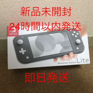 Nintendo Switch - Nintendo Switch Liteグレー