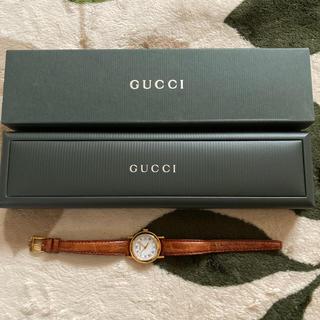 グッチ(Gucci)のグッチ 革ベルト腕時計 (腕時計)
