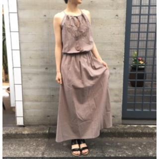 DEUXIEME CLASSE - 新品タグ付き✨MARIHA マリハ 夏の夜のドレス マキシワンピース