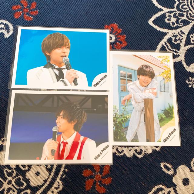 Johnny's(ジャニーズ)のKing & Prince永瀬廉 公式写真3枚セット エンタメ/ホビーのタレントグッズ(アイドルグッズ)の商品写真