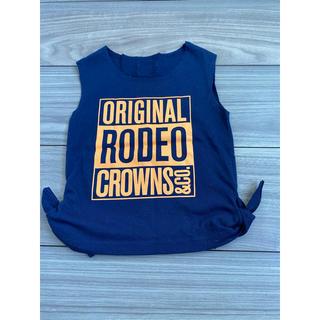 RODEO CROWNS WIDE BOWL - ロデオクラウンズ タンクトップ XS