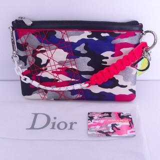 ディオール(Dior)の美品 Dior ディオール ハンドバッグ クラッチや化粧ポーチとしても使えます(クラッチバッグ)