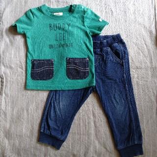 バディーリー(Buddy Lee)のLee Tシャツ デニムレギンス セット 80cm(Tシャツ)