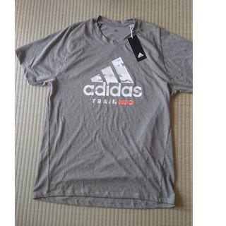 アディダス(adidas)のアディダス Tシャツ メンズ サイズXO 色グレー(Tシャツ/カットソー(半袖/袖なし))