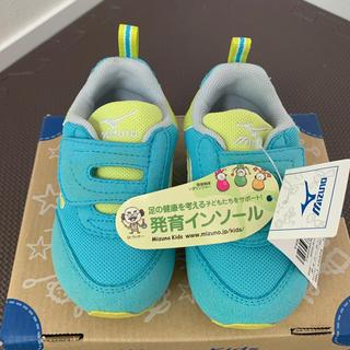 MIZUNO - 未使用品!ミズノ キッズスニーカー 12.5㎝ 発育インソール 子供 靴