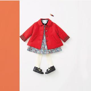 familiar - ファミリア 中綿コート
