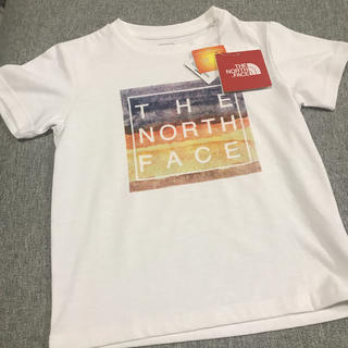 THE NORTH FACE - 新品 THE NORTH FACE  ロゴTシャツ 120cm