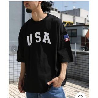 フリークスストア(FREAK'S STORE)のFREAK'S STORE スーパービッグシルエット USA 半袖Tシャツ(Tシャツ/カットソー(半袖/袖なし))