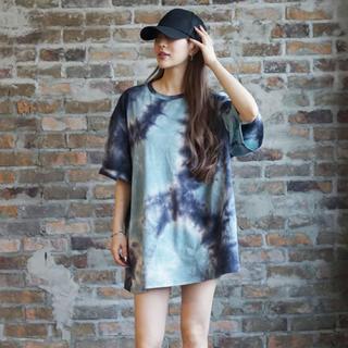 ジェイダ(GYDA)の【即完売!】 ミラーナインTie-dye  Tシャツ XL(Tシャツ/カットソー(半袖/袖なし))