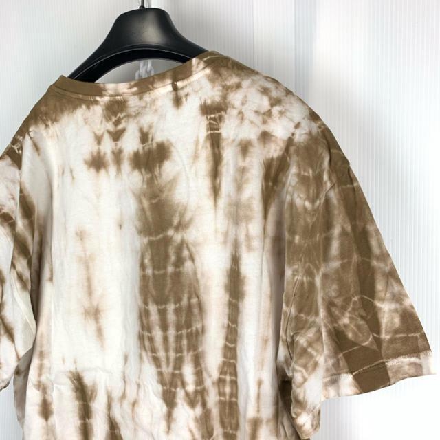 ZARA(ザラ)のZARA 限定 一点物デザイン タイダイ ビッグTシャツ M 2 オーバーサイズ メンズのトップス(Tシャツ/カットソー(半袖/袖なし))の商品写真
