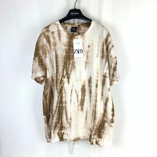 ザラ(ZARA)のZARA 限定 一点物デザイン タイダイ ビッグTシャツ M 2 オーバーサイズ(Tシャツ/カットソー(半袖/袖なし))