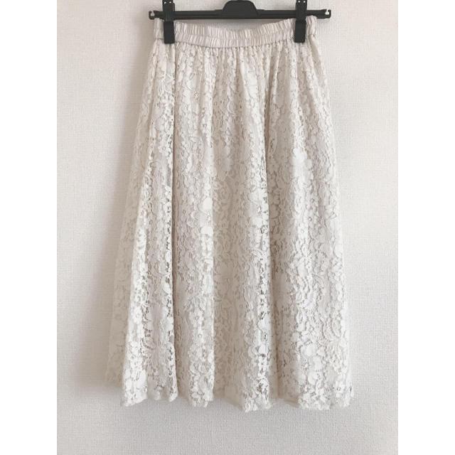 WILLSELECTION(ウィルセレクション)のウィルセレクション/レーススカート レディースのスカート(ロングスカート)の商品写真