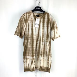 ザラ(ZARA)のZARA 限定 一点物デザイン タイダイ ビッグTシャツ S 2 オーバーサイズ(Tシャツ/カットソー(半袖/袖なし))