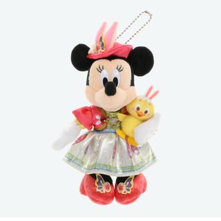Disney - ディズニー イースター 2020 ぬいぐるみバッジ ぬいば ミニー うさピヨ