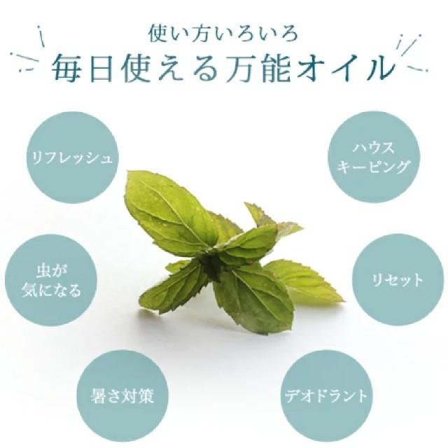 専用ページ♡ハッカ油2本【10ml】 コスメ/美容のリラクゼーション(エッセンシャルオイル(精油))の商品写真