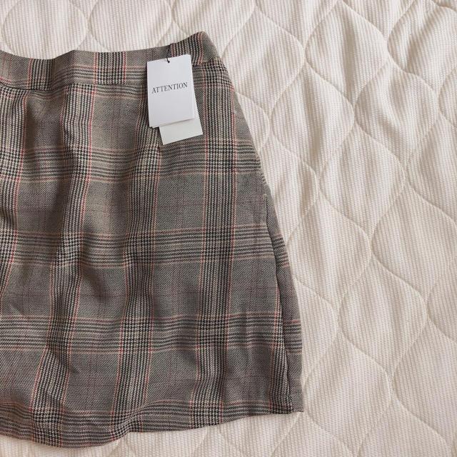 WEGO(ウィゴー)のチェック柄スカート レディースのスカート(ミニスカート)の商品写真