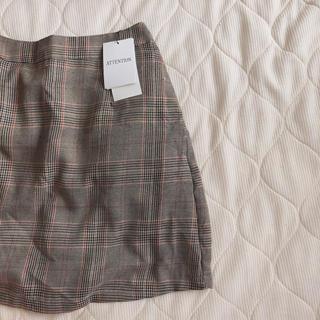 WEGO - チェック柄スカート