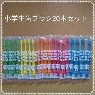 364【歯科専売】小学生歯ブラシ20本セット(歯ブラシ/デンタルフロス)