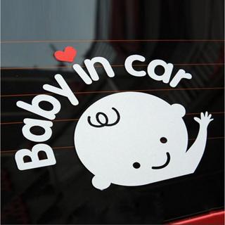 【新品】Baby in car ステッカー / 車 赤ちゃん (その他)