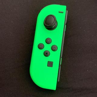 ニンテンドースイッチ(Nintendo Switch)のNintendo Switch Joy-Con ジョイコン 左 ライトグリーン(その他)