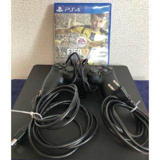 SONY - 使用少!PS4 本体 【完動品】 CUH-2000A ブラック+FIFA17