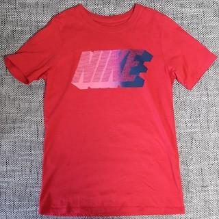 ナイキ(NIKE)のナイキ 140 145 赤 Tシャツ 綿100% NIKE(Tシャツ/カットソー)