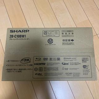 アクオス(AQUOS)のSHARP AQUOS 2B C10BW1 ブルーレイディスクレコーダー 1T(ブルーレイレコーダー)