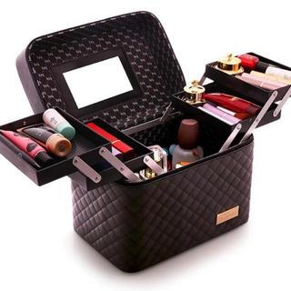 新品未使用 メイクボックス 化粧箱 大型 大容量 タイプ(メイクボックス)