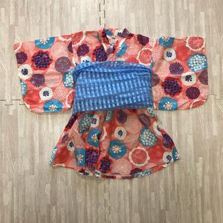 マーキーズ(MARKEY'S)のaki様専用 OCEAN&GROUND 浴衣 ワンピースタイプ(甚平/浴衣)