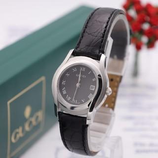 グッチ(Gucci)の付属品完備【新品電池】GUCCI 5500L/動作品 人気モデル(腕時計)
