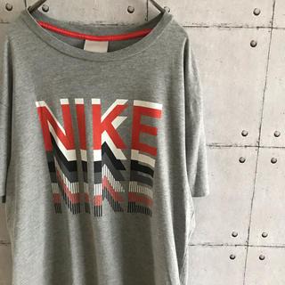 ナイキ(NIKE)のNIKE プリントt 半袖 Tシャツ グレー(Tシャツ/カットソー(半袖/袖なし))