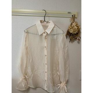 dholic - DHOLIC シースルーシャツ
