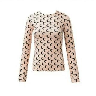 マルタンマルジェラ(Maison Martin Margiela)のmarine serre ターンオーバームーンロングスリーブ(Tシャツ(半袖/袖なし))