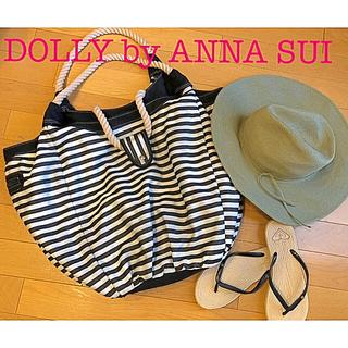 ドーリーガールバイアナスイ(DOLLY GIRL BY ANNA SUI)の洗濯可能❤︎バッグマリンボーダーDOLLY GIRL by ANNA SUI(ショルダーバッグ)