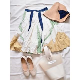 SCOT CLUB - 日本製 dress forme フレアスカート