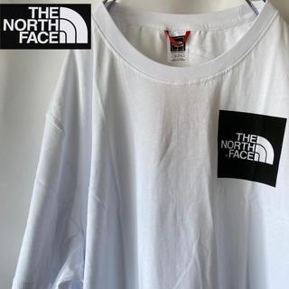 THE NORTH FACE - 新品 ノースフェイス Tシャツ 白 黒ロゴ XXL