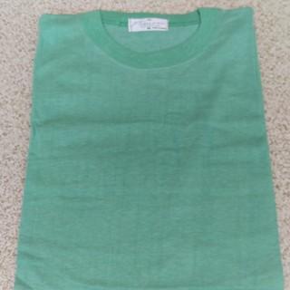 Tシャツ 半袖 ライトグリーン M 綿100% 未使用