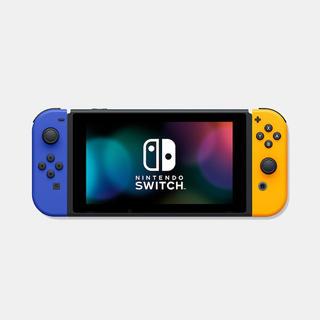 Nintendo Switch - Nintendo Switch Joy-Con(L)ブルー/(R)ネオンオレンジ