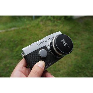 オリンパス(OLYMPUS)の【値下げ】Olympus Pen-FT Zuiko 38mm F1.8(フィルムカメラ)