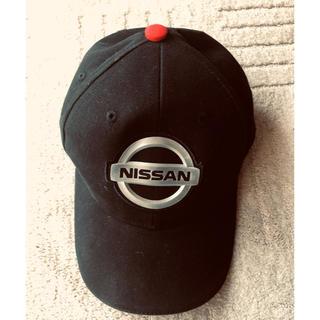 ニッサン(日産)の日産 旧エンブレムのキャップ帽子 新品未使用(キャップ)