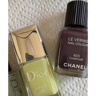 CHANEL - CHANEL LE VERNIS 603 Dior ヴェルニ 302 セット